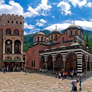 Visiting the Rila Monastery