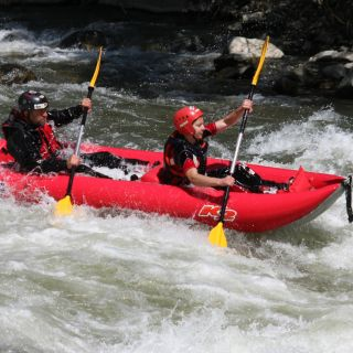 Kayak on the Kresna Gorge