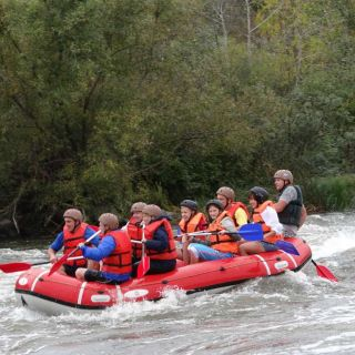 Rafting on the Kresna Gorge