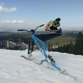 Ski bike Test